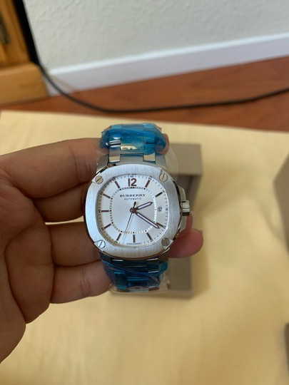 Burberry $1795 NWT The Britain Women's Automatic Swiss Made Watch BBY1601 Image 2