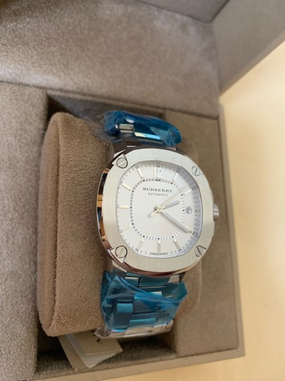 Burberry $1795 NWT The Britain Women's Automatic Swiss Made Watch BBY1601 Image 3