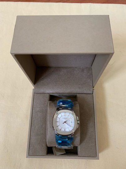 Burberry $1795 NWT The Britain Women's Automatic Swiss Made Watch BBY1601 Image 4