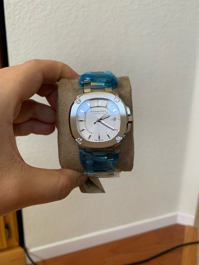Burberry $1795 NWT The Britain Women's Automatic Swiss Made Watch BBY1601 Image 5