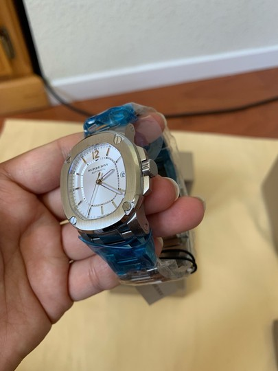 Burberry $1795 NWT The Britain Women's Automatic Swiss Made Watch BBY1601 Image 7