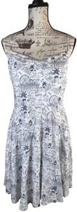 Old Navy short dress White and blue on Tradesy