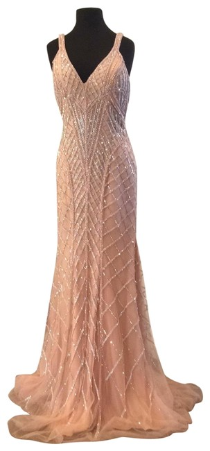 Item - Pink 55821 Long Formal Dress Size 10 (M)