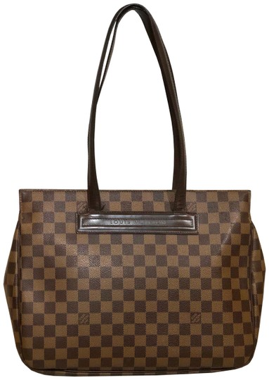 Preload https://img-static.tradesy.com/item/25422247/louis-vuitton-parioli-brown-and-tan-damier-ebene-canvas-calf-leather-tote-0-1-540-540.jpg