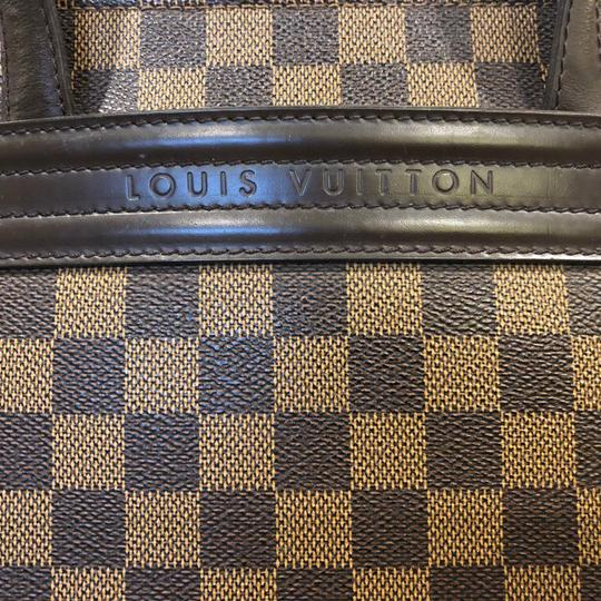 Louis Vuitton Damier Leather Tote in Brown and tan Image 3