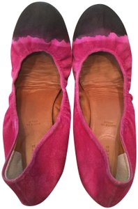 Anthropologie Ombre Leif Notes Leifnotes Pink Flats