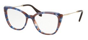 Miu Miu New Optical Eyeglasses VMU 02Q 108-101 Free 3 Day Shipping