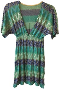 Vitamin A Mesh deep V swimsuit Cover up