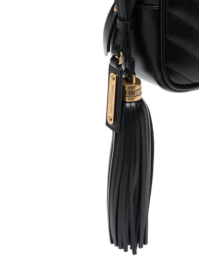 Saint Laurent Gold Hardware Quilted Belted Cross Body Bag Image 4