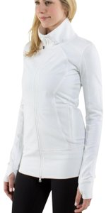 Lululemon Lululemon Brushed White Nice Asana Jacket