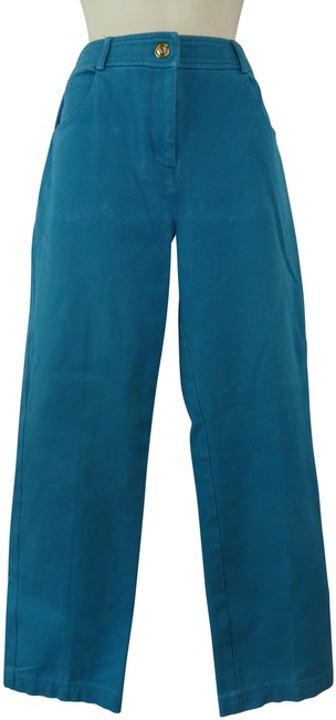 Item - Turquoise Marie Gray Yellow Label Pants Size 2 (XS, 26)