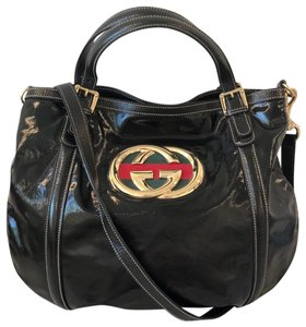 f5444c7d32a2 Patent Leather Gucci Bags - 70% - 90% off at Tradesy