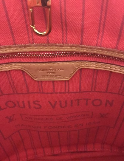 Louis Vuitton Neverfull Mm Limited Edition Monogram Classic Tote in Brown Image 10