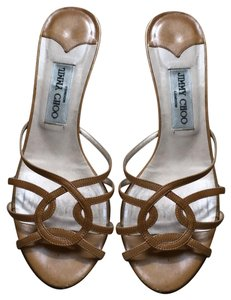 Jimmy Choo tan Sandals