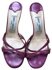 Jimmy Choo darker pink, almost purple Sandals