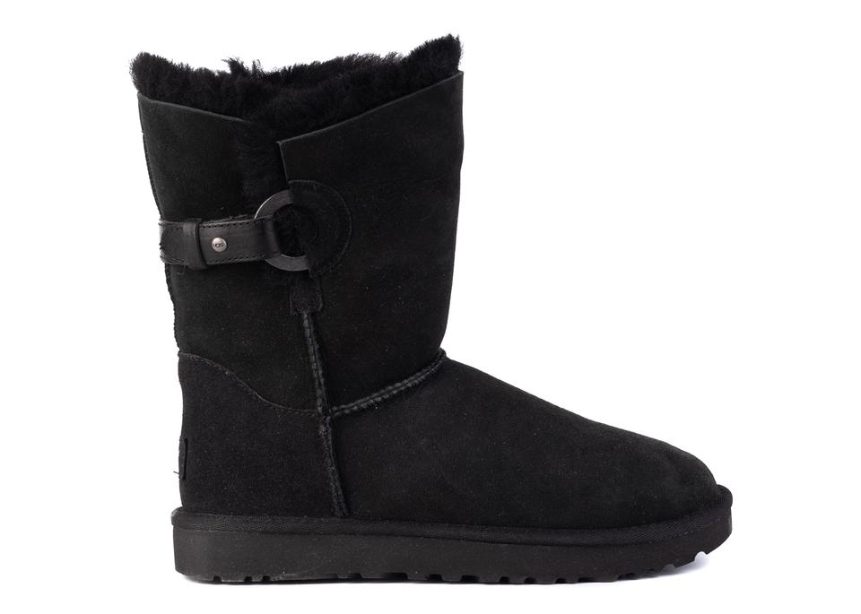 c8297e369aa UGG Australia Black Womens Suede Shearling Buckle Nash C3717 Boots/Booties  Size US 6 Regular (M, B) 21% off retail