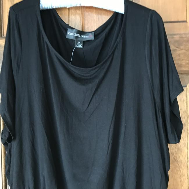 Colleen Lopez New With Tags Short Sleeves Ruching Rayon/Spandex Machine Wash Tunic Image 1
