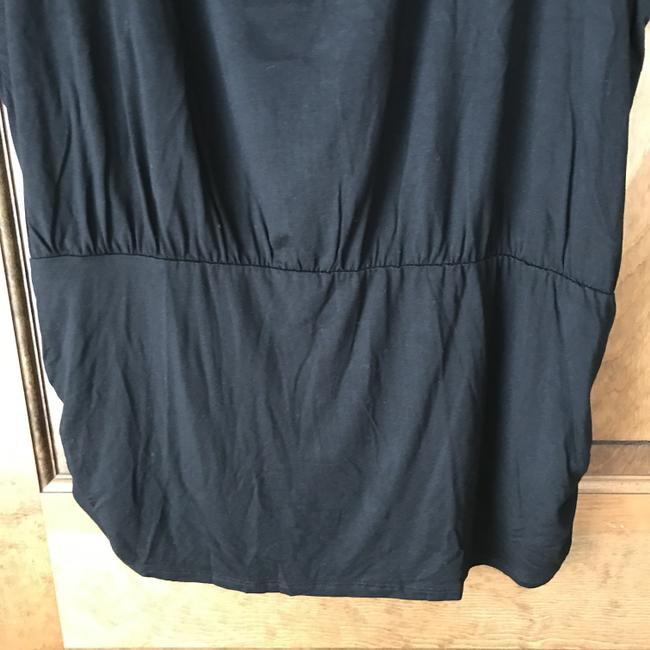 Colleen Lopez New With Tags Short Sleeves Ruching Rayon/Spandex Machine Wash Tunic Image 2
