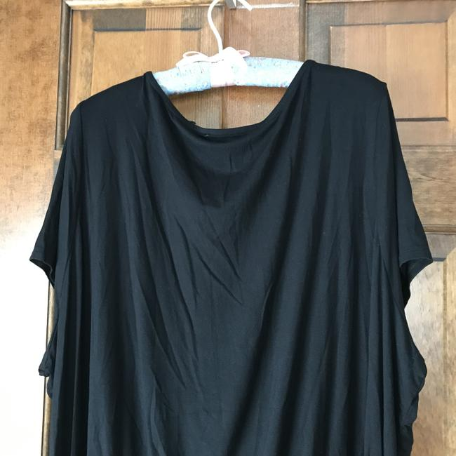 Colleen Lopez New With Tags Short Sleeves Ruching Rayon/Spandex Machine Wash Tunic Image 6