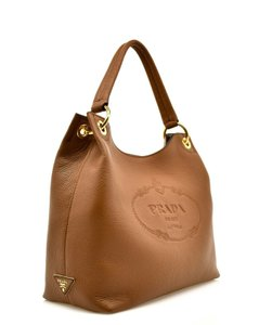 a2501942edad Prada Shoulder Tote Sacca Vitello Phenix Hobo Bag
