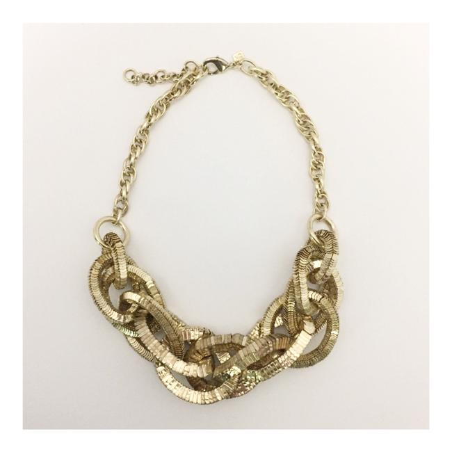 Item - Gold Tone Chunky Necklace