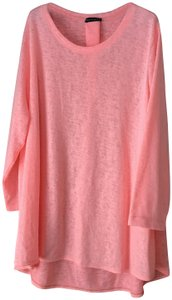 Nally & Millie High-low U-shaped Neckline New With Tags Polyester/Rayon Hand Wash Tunic
