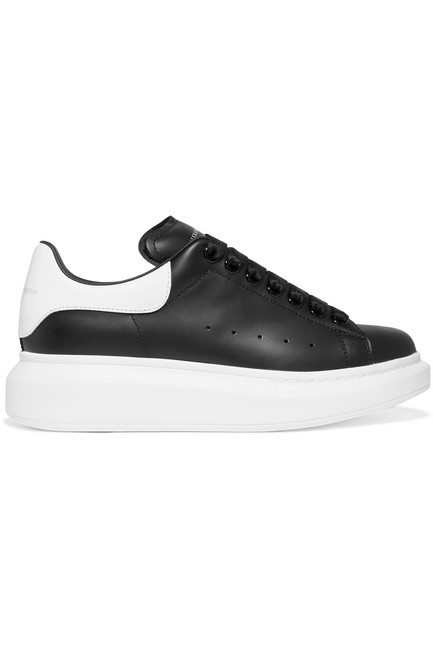 Item - Leather Exaggerated-sole Sneakers Size EU 36.5 (Approx. US 6.5) Regular (M, B)