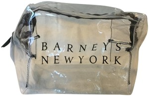 Barneys New York Barneys New York Clear PVC Cosmetic Makeup Bag Case 8x5x5 zip top
