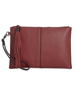 INC International Concepts Bordeaux Clutch
