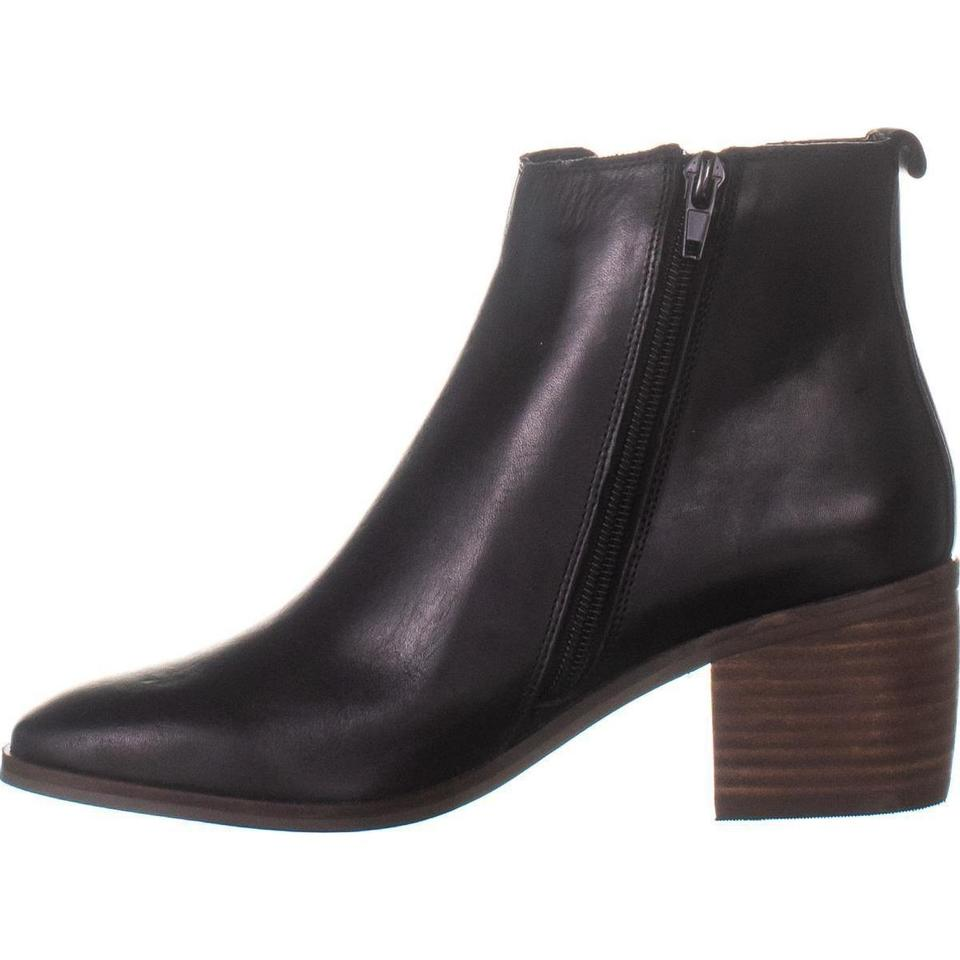 dbad60892fa Lucky Brand Black Maiken Square-toe Ankle 833 Leather / 3 Boots/Booties  Size US 7 Regular (M, B) 45% off retail