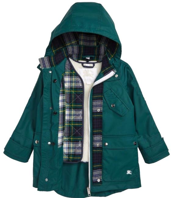 Item - Forest Green Boy's Liam Sherpa - Lined 2 In 1 with Vest ( 6 Years ) Coat Size OS (one size)