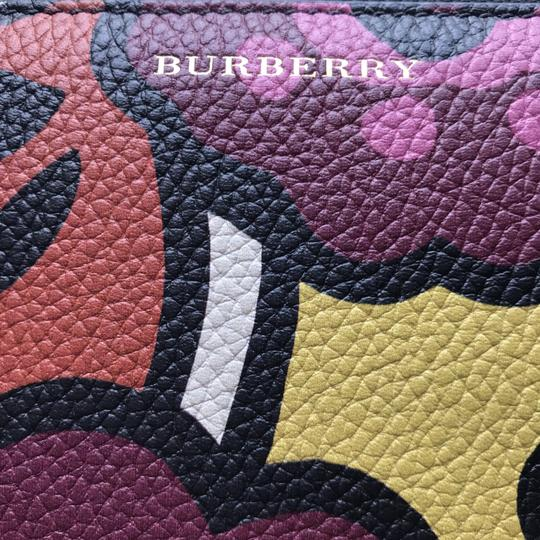 Burberry Burberry Peony Rose Print Haymarket Check & Leather Zip Around Wallet Image 2
