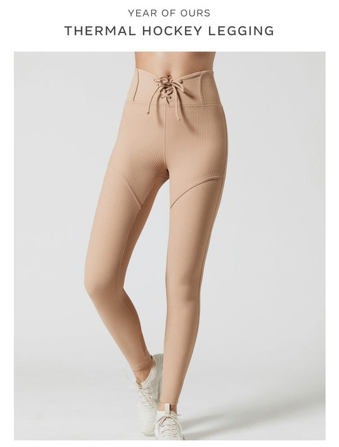Item - Nude Thermal Hockey Activewear Bottoms Size 8 (M)