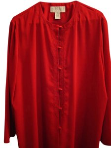 Maggie McNaughton Top Red