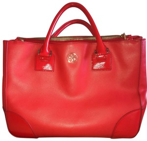 Tory Burch Satchel in orange/coral