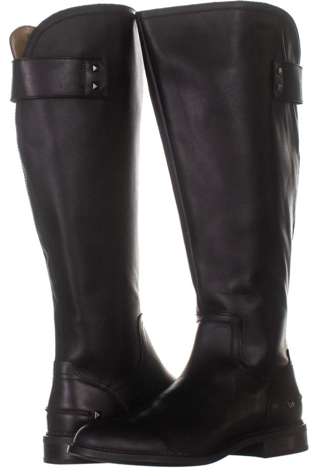 7415fac6bff Franco Sarto Black Henrietta Wide Calf Knee High 255 Leather 1  Boots/Booties Size US 11 Regular (M, B) 51% off retail