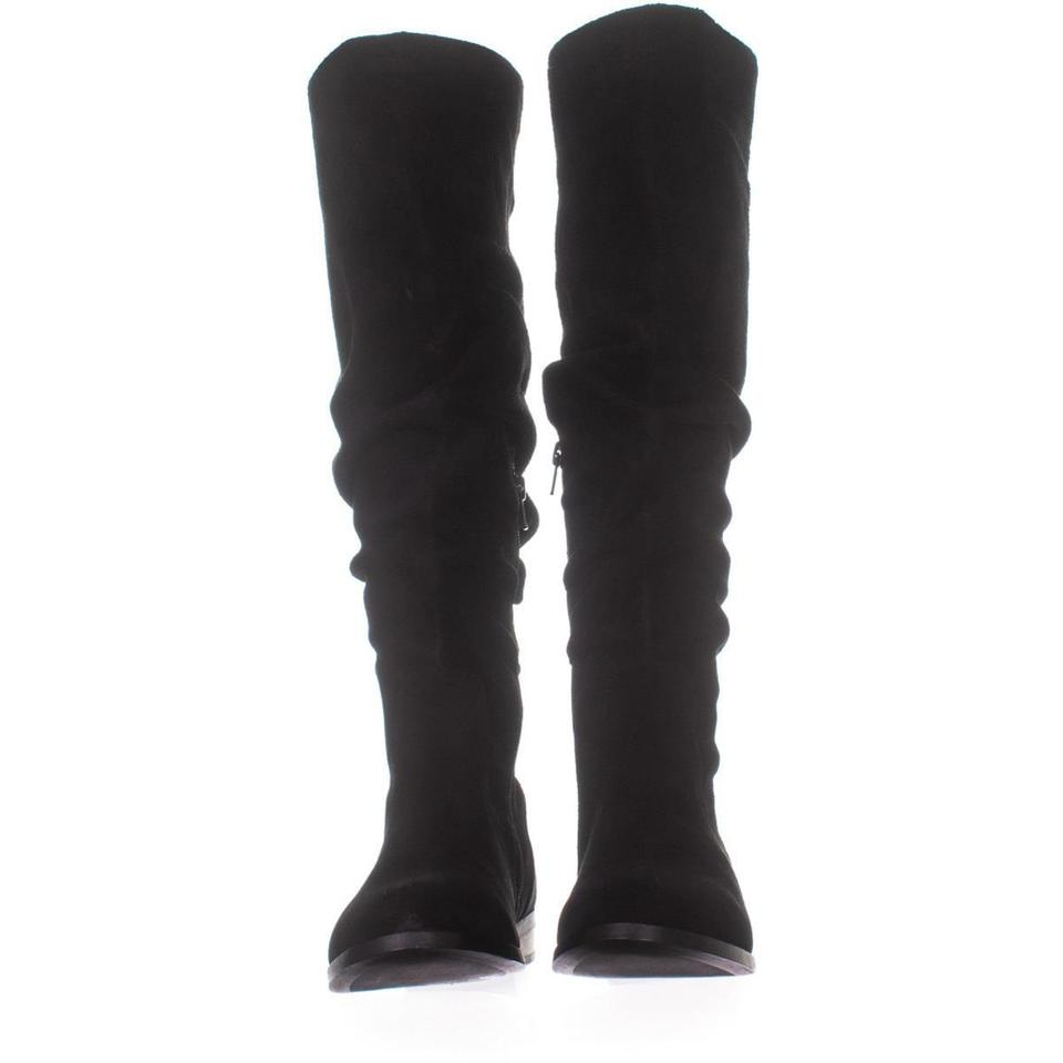aaffa17a80b Steve Madden Black Beacon Tall Slouch 689 Suede Boots/Booties Size US 8  Regular (M, B) 59% off retail
