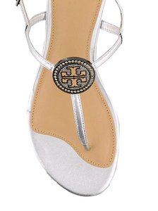 Tory Burch silver with tag Flats