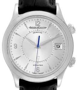 Jaeger-LeCoultre Jaeger Lecoultre Master Memovox Silver Dial Mens Watch 174.8.96 Q14184