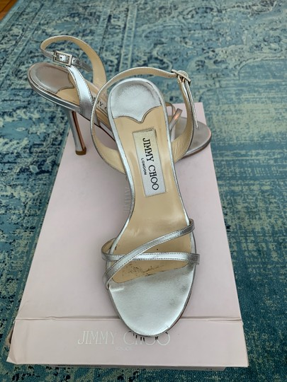 Jimmy Choo silver Sandals Image 2