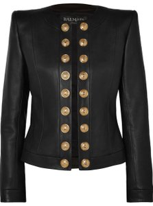 39c8ab2f Women's Balmain Leather Jackets - Up to 90% off at Tradesy