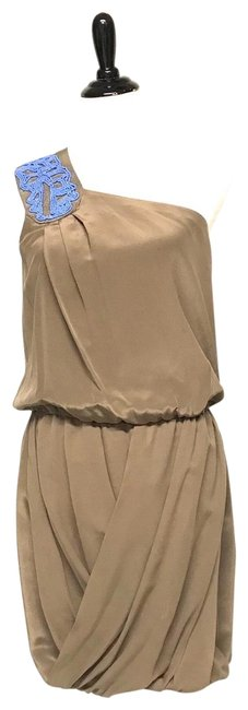 Preload https://img-static.tradesy.com/item/25431157/tibi-taupe-silk-mid-length-cocktail-dress-size-8-m-0-1-650-650.jpg