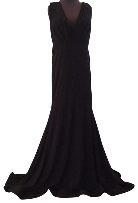 Item - Black 67848a Long Formal Dress Size 14 (L)