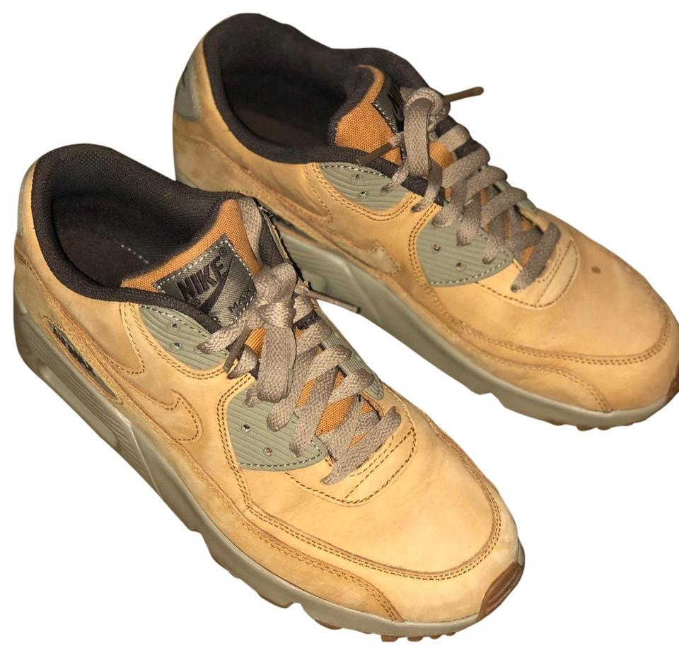 info for 22976 f38d2 Mustard/Brown Air Max Sneakers