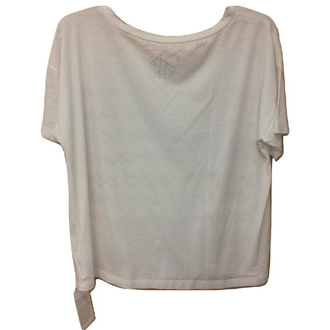 Chaser Sleeve Burnout Made In Usa Geoprint T Shirt White Image 1