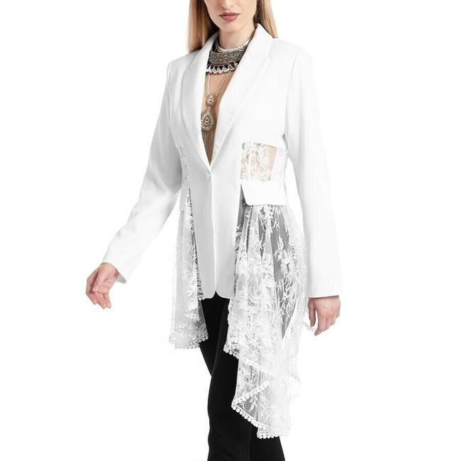 Gracia White Jacket Image 2