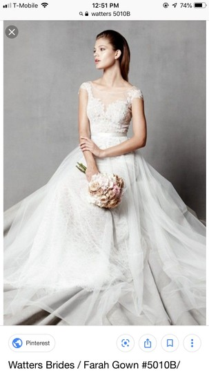 Preload https://img-static.tradesy.com/item/25431862/watters-farah-tulle-and-lace-formal-wedding-dress-size-10-m-0-0-540-540.jpg