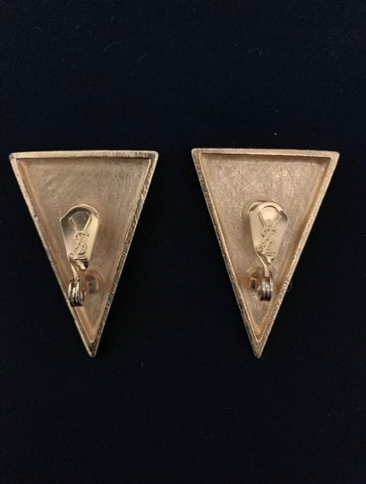 Saint Laurent Vintage YSL Earrings Image 2