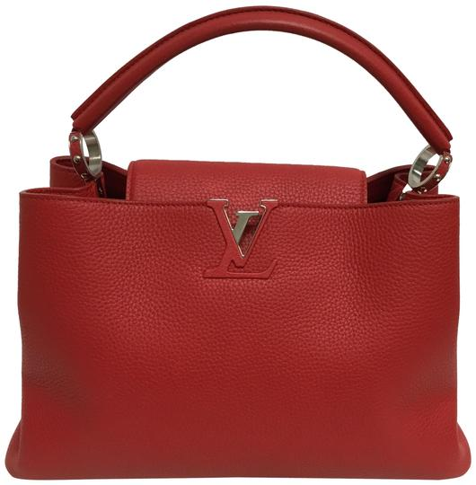 Preload https://img-static.tradesy.com/item/25431868/louis-vuitton-capucine-red-taurillon-leather-satchel-0-2-540-540.jpg