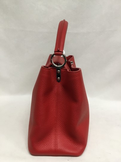Louis Vuitton Satchel in Red Image 2